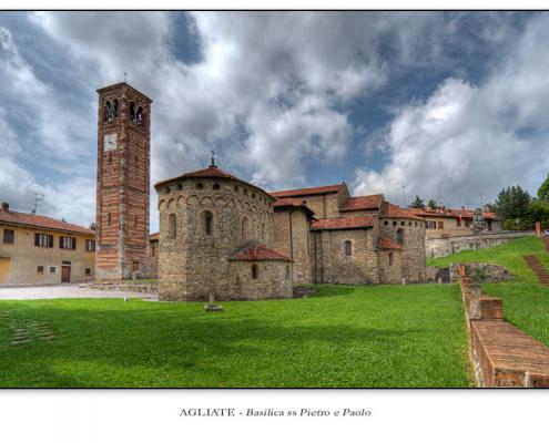 Agliate - Basilica ss Pietro e Paolo