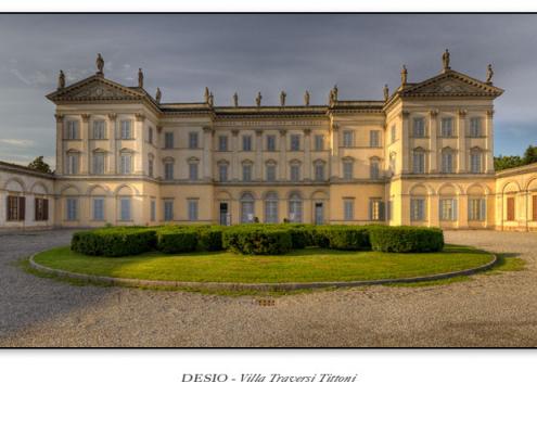 Desio - Villa Traversi Tittoni