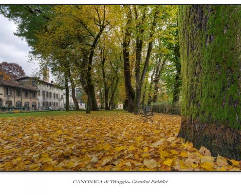 Canonica di Triuggio - Giardini Pubblici