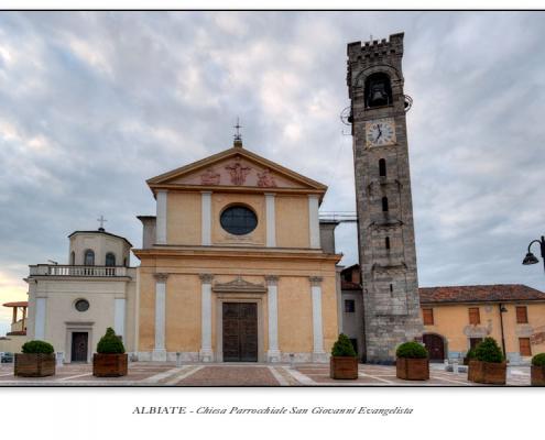 Albiate - Chiesa Parrocchiale San Giovanni Evangelista