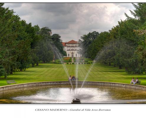 Cesano Maderno - Giardini di Villa Arese Borromeo