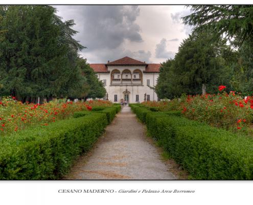 Cesano Maderno - Giardini e Palazzo Arese Borromeo
