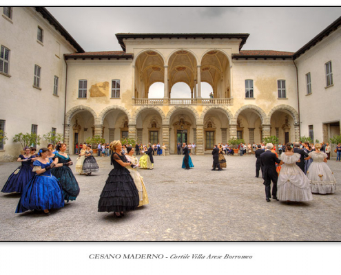 Cesano Maderno - Cortile Villa Arese Borromeo