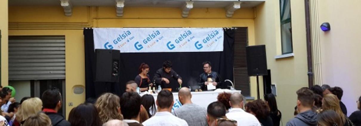 GELSIA CANTU' - SHOW COOKING VALERIO BRASCHI