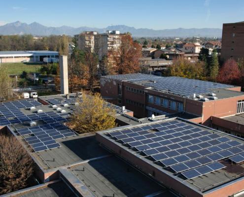 Impianto fotovoltaico Scuole Aldo Moro - Seregno