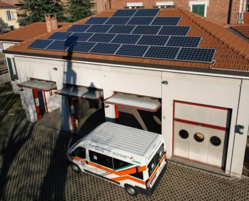 Impianto fotovoltaico Seregno Soccorso - Seregno