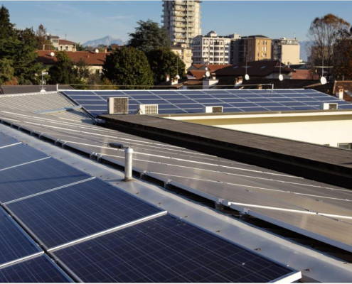 Impianto fotovoltaico Sede AEB - Seregno