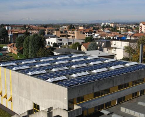 Impianto fotovoltaico Scuole Don Milani - Seregno